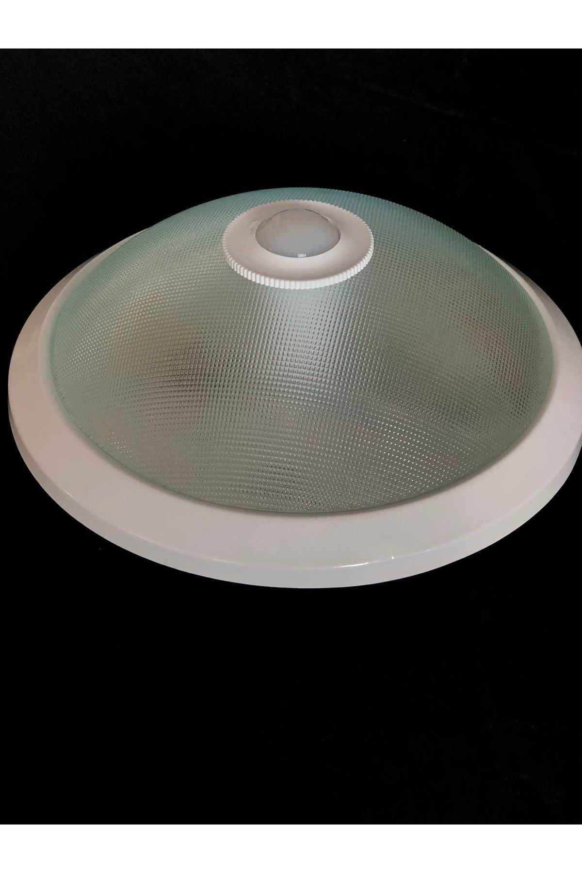 Sensörlü Armatür 2 Duylu Sinyal Desen- Beyaz